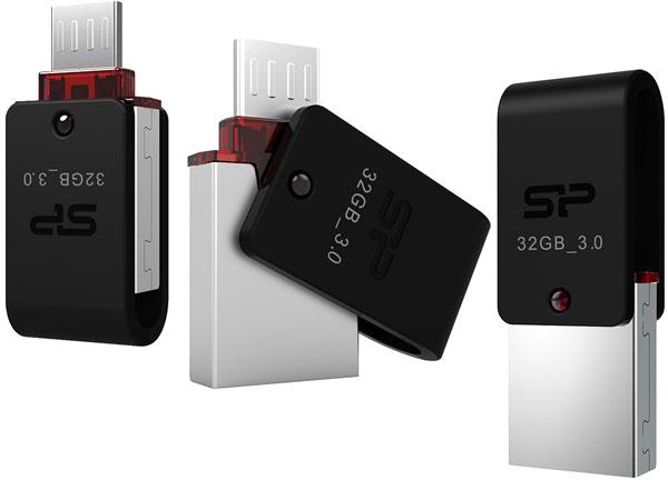 Накопитель Silicon Power Mobile X31 выпускается объемом 8, 16 и 32 ГБ