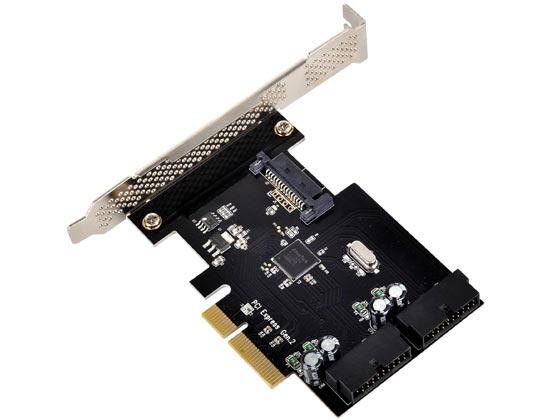 Низкопрофильная карта расширения SilverStone ECU01 наделена интерфейсом PCI Express 2.0 x2