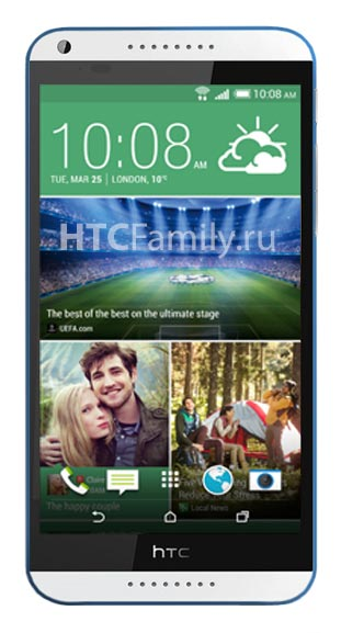 В оснащение HTC Desire 820 войдут камеры разрешением 13 и 8 Мп
