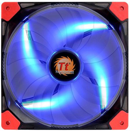 Каждая модель серии Thermaltake Luna выпускается в трех вариантах: с синей, красной и белой подсветкой
