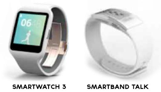 Sony SmartWatch 3 SmartBand Talk