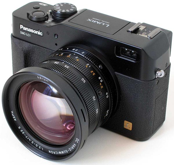 В оснащение Panasonic LX100 войдет электронный видоискатель