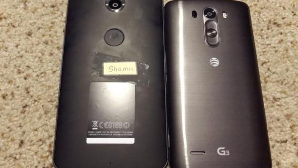 Смартфон Motorola Nexus 6, также известен под обозначениями Moto X и Shamu