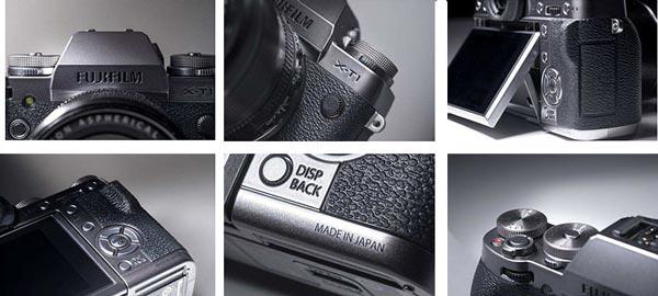 Камера Fujifilm X-T1 Graphite Silver Edition отличается от базовой модели не только внешним видом