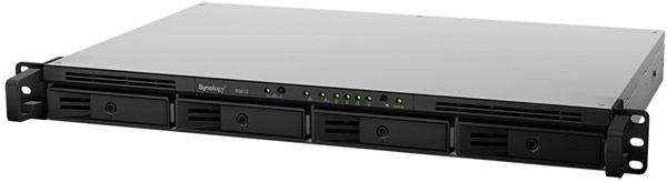 Для подключения к сети Synology RackStation RS815 имеет два порта Gigabit Ethernet с поддержкой агрегации