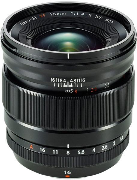 Рекомендованная розничная цена объектива Fujinon XF16mm F1.4 R WR в России — 54 999 рублей