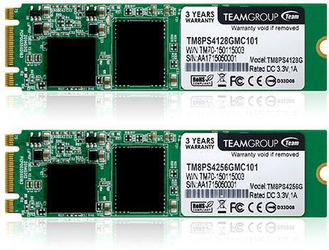Твердотельные накопители Team Group TM4PS4 и TM8PS4 доступны объемом 128 и 256 ГБ