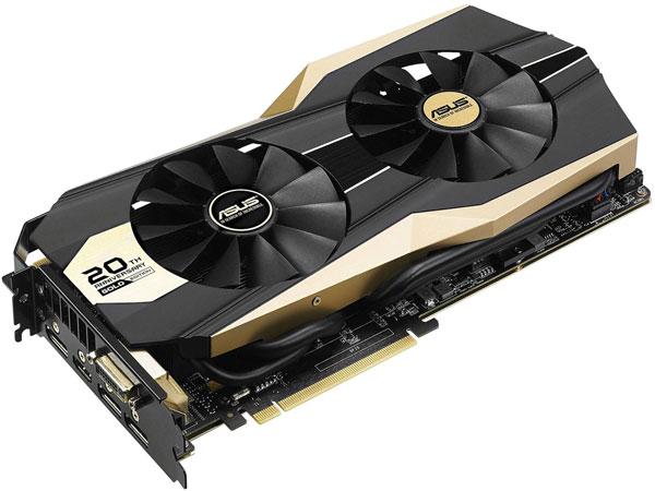 �������� 3D-����� Asus GTX 980 20th Anniversary Gold Edition �������� Asus �������� 20 ��� �� ��� ������� ����� ������ 3D-�����