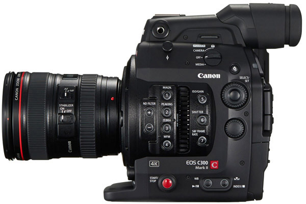 Продажи камер Canon EOS C300 Mark II стартуют в сентябре по цене $20 000