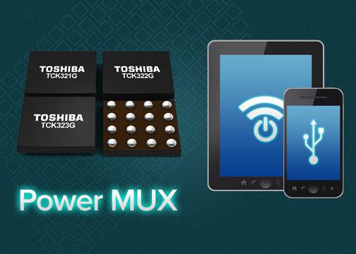 Микросхемы мультиплексоров питания Toshiba TCK32xG имеют расширенные функции защиты