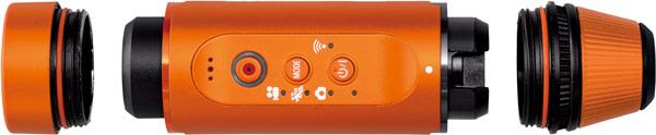 Камера Panasonic HX-A1 защищена от пыли, воды и ударов
