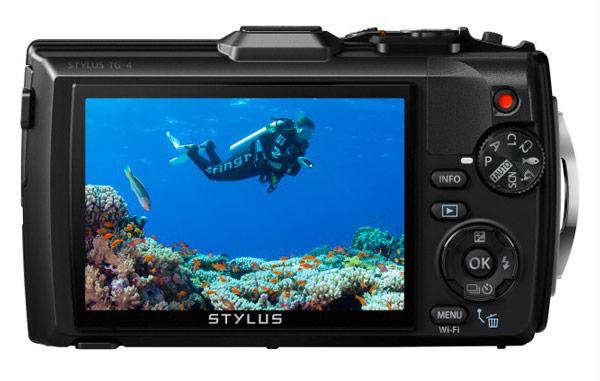 Представлена камера Olympus Stylus Tough TG-4 для любителей активного отдыха