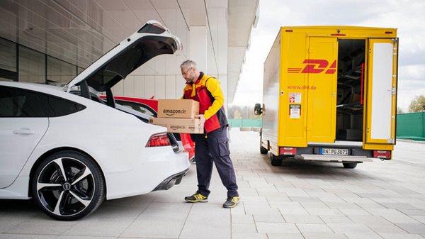 Amazon Audi DHL
