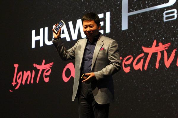 ����������� �������� Huawei P8