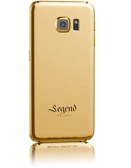 Финская компания Legend украсила смартфоны Galaxy S6 и S6 Edge золотом и кожей крокодила