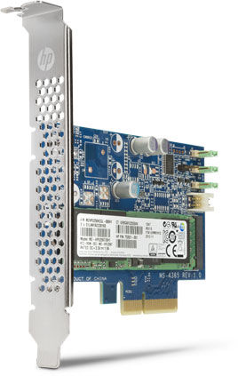 Твердотельные накопители HP Z Turbo G2 выпускаются объемом 256 и 512 ГБ