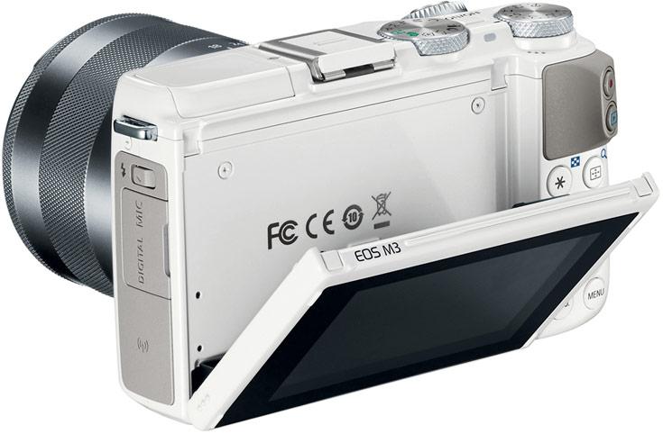 Беззеркальная камера Canon EOS M3 со сменными объективами адресована энтузиастам фотографии