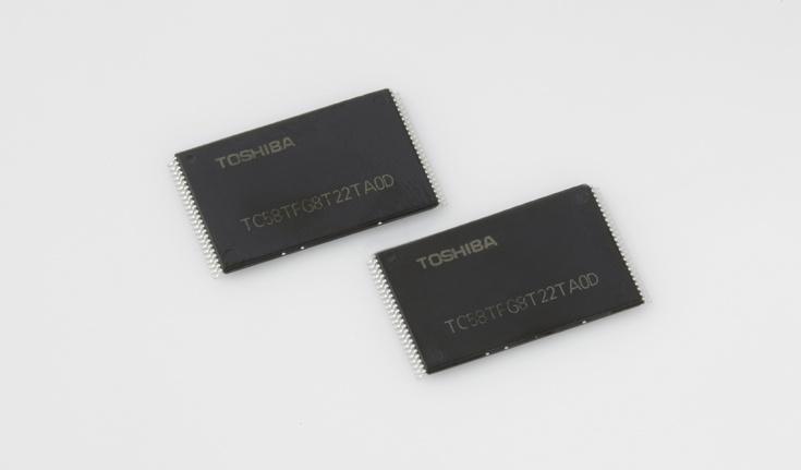 флэш-памяти 3D NAND (BiCS)