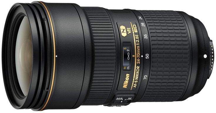 Рекомендованная цена объектива AF-S Nikkor 24-70mm f/2.8E ED VR равна $2400