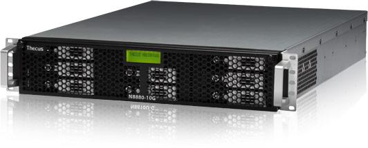 NAS Thecus N7770-10G и N8880U-10G очень похожи между собой