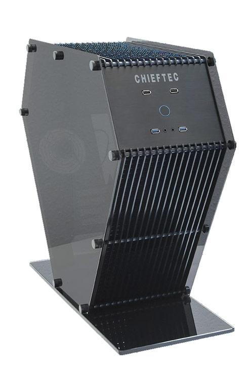 Chieftec SJ-06 - корпус непривычной формы