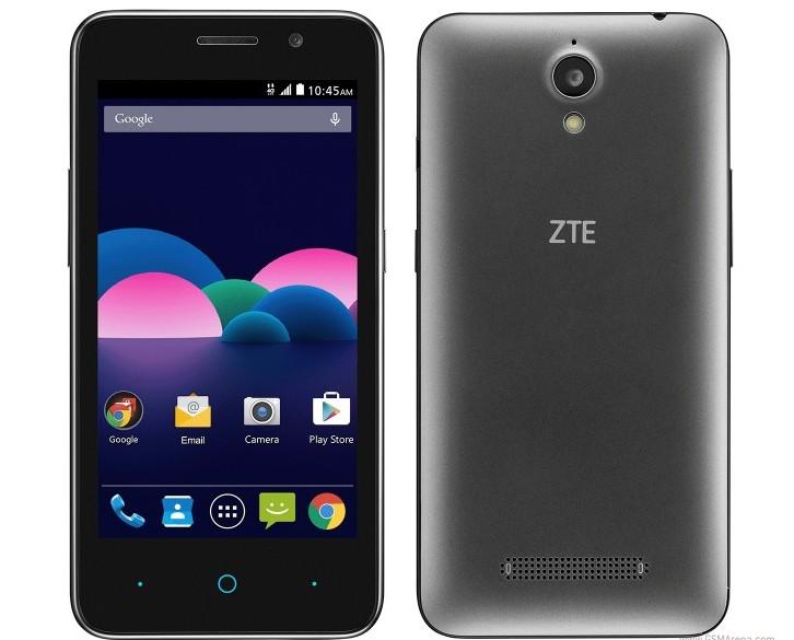 Смартфон ZTE Obsidian работает под управлением Android 5.1