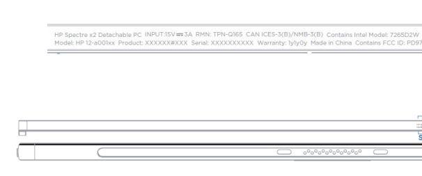Гибридный планшет HP Spectre X2 получит новые процессоры Intel