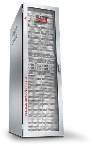 В системе хранения Oracle FS1 используются только SSD