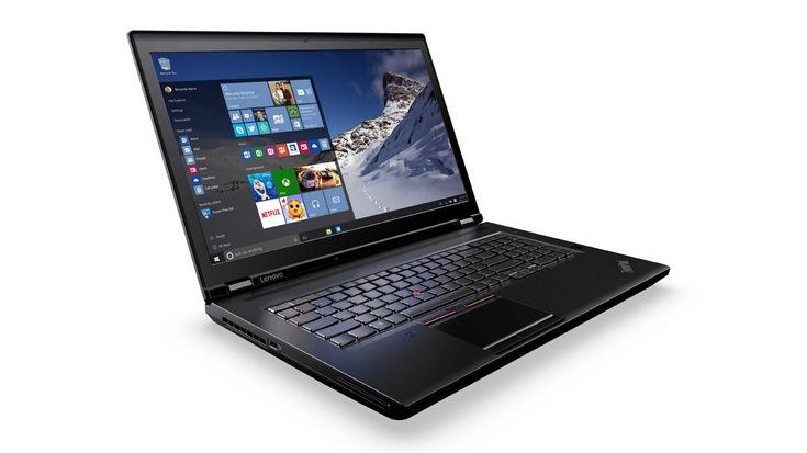 Мобильные ПК Lenovo ThinkPad P50 и P70 оценили в 1600 и 2000 долларов соответственно