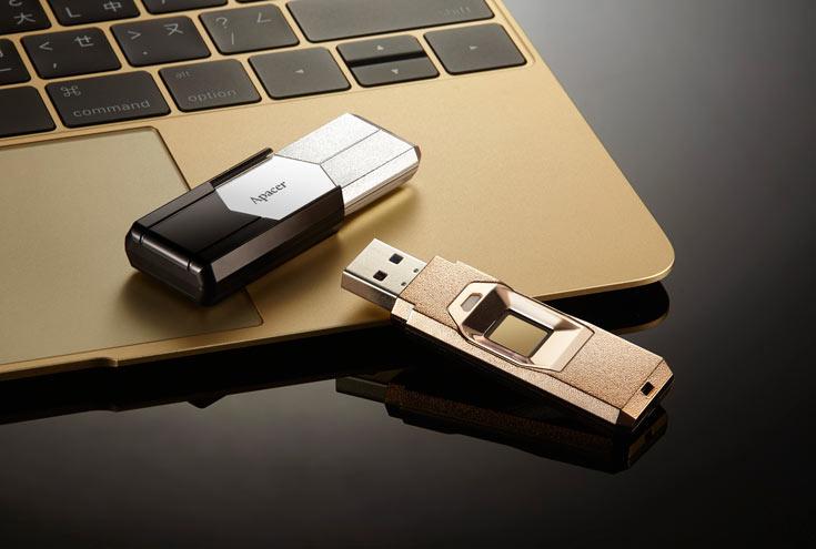 Флэш-накопитель Apacer AH650 оснащен интерфейсом USB 3.0