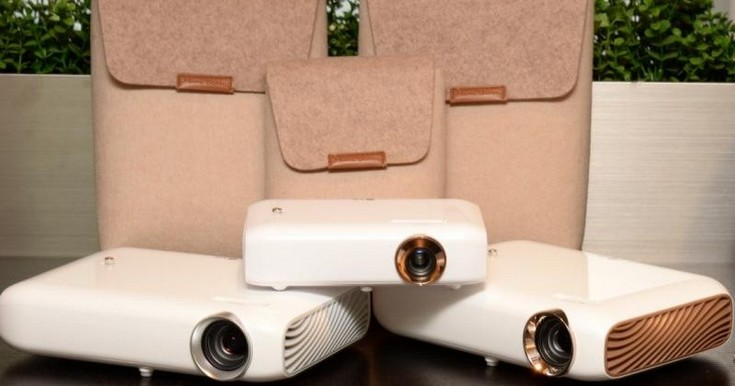 LG показала проекторы nibeam PH550, PW1000 и PW1500
