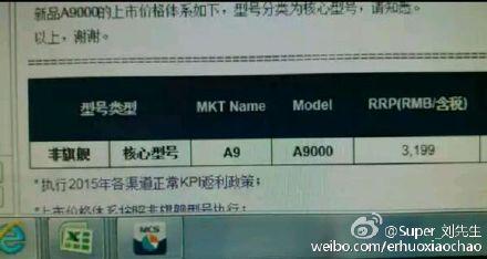 Смартфон Samsung Galaxy A9 стоит 500 долларов