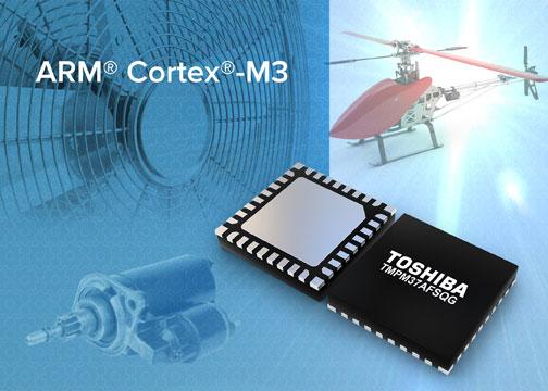 Микроконтроллер Toshiba TMPM37AFSQG упакован в корпус VQFN32 размерами 5х5 мм