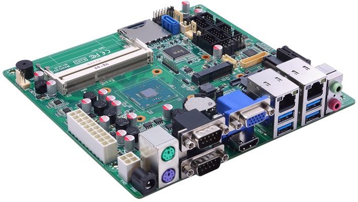 Axiomtek Mano300 отличается от бытовых плат интерфейсами и возможностями питания