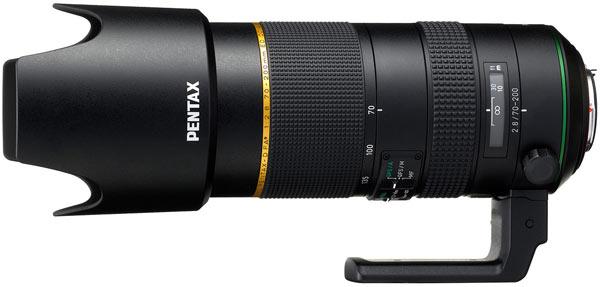 Продажи HD Pentax-D FA* 70-200mm F2.8ED DC AW начнутся в марте по цене $2300