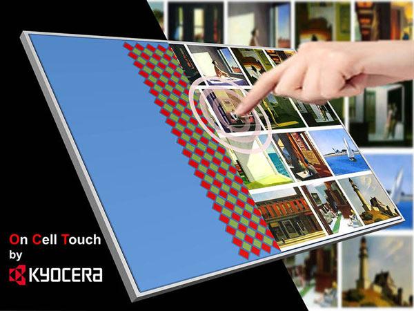 Дисплеи Kyocera TCG070WVLR-117 и TCG070WVLR-118 имеют разрешение WVGA