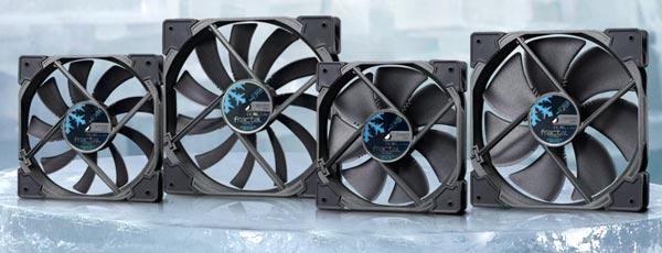 Представлены вентиляторы серий Fractal Design Venturi HF и HP PWM