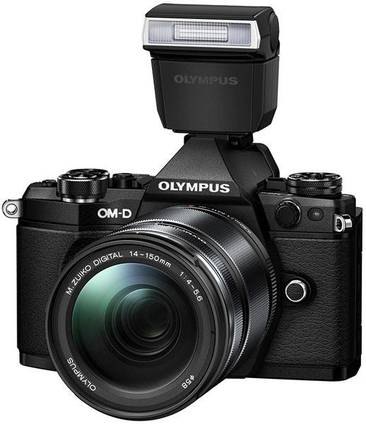 Камера Olympus OM-D E-M5 Mark II оснащена новой пятиосевой системой стабилизации изображения