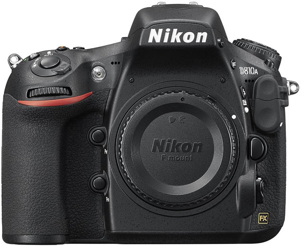 Продажи Nikon D810A начнутся в мае по цене $3800