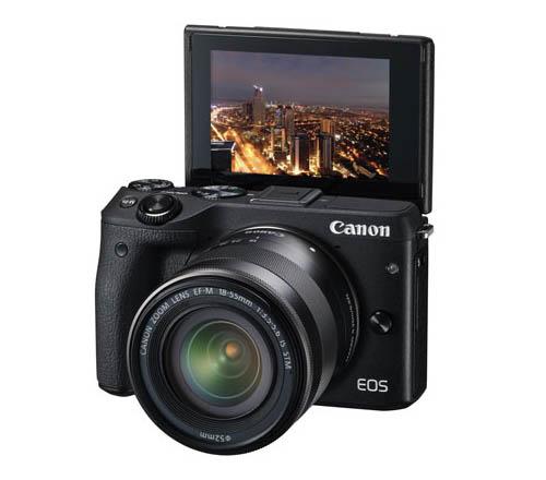 ������ Canon EOS M3 �������� ����� �������� ������ �� ��������� �� 4,2 �/�