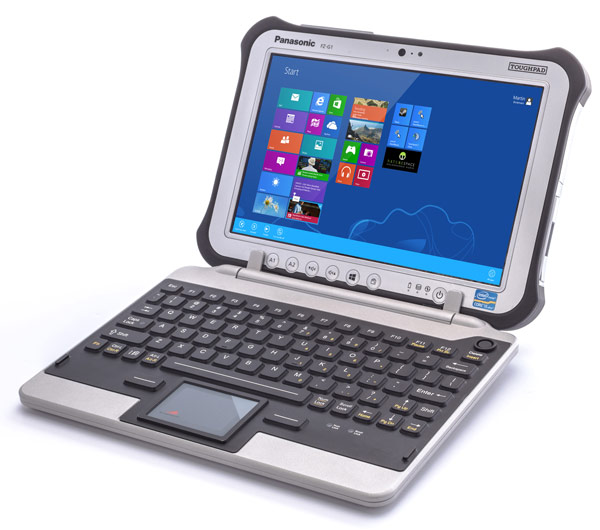 Корпус клавиатуры FZ-G1 Jumpseat изготовлен из алюминия и герметизирован