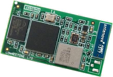 На плате модуля G2 размерами 37,0 x 20,0 x 2,5 мм находится SoC Broadcom BCM43362