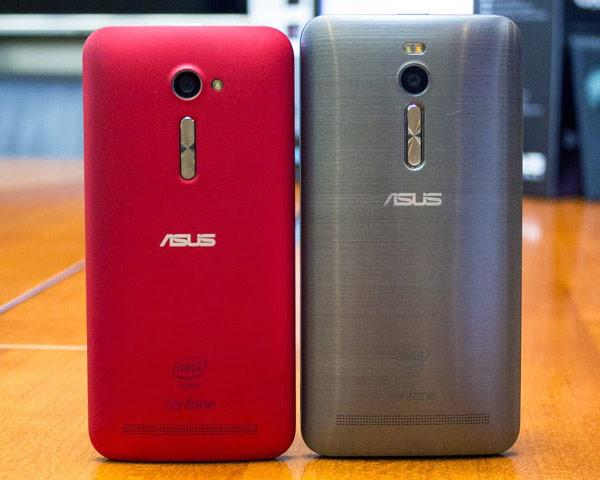Смартфон Asus Zenfone 2 ZE500CL оснащен пятидюймовым дисплеем