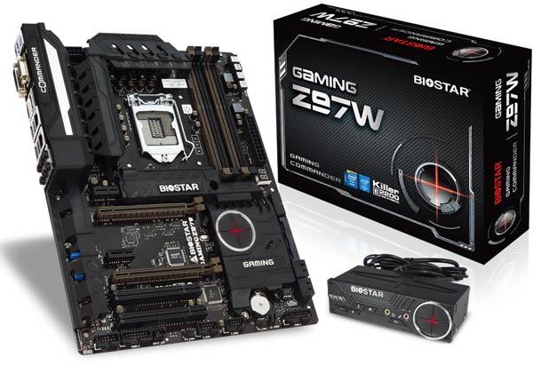 Оснащение системных плат Biostar Gaming Z97X и Z97W включает порты USB 3.1