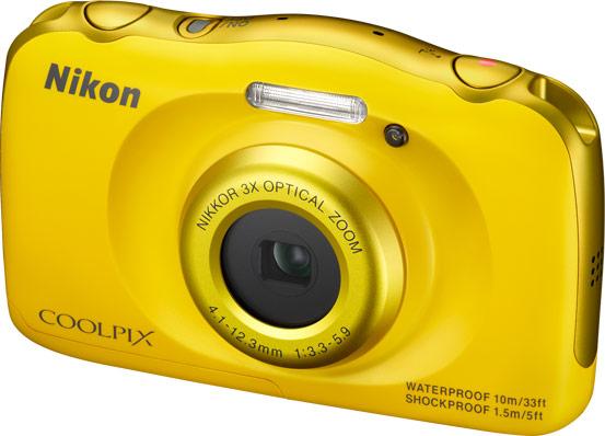 ������� Nikon Coolpix S33 �������� � �����, �� ��������������� ���� $150
