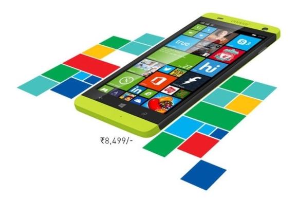 Смартфон Lava Xolo Win Q1000 работает под управлением Windows Phone 8.1