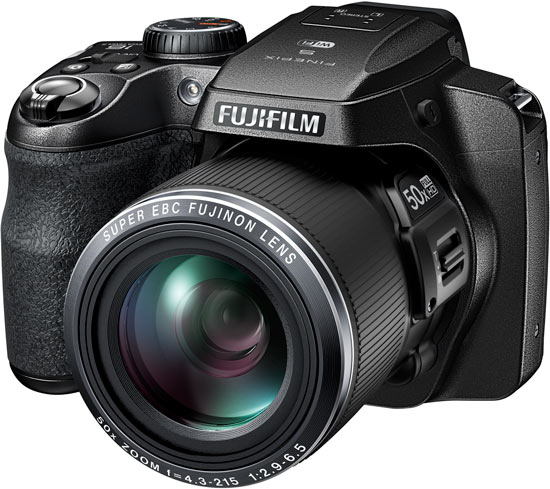 Продажи Fujifilm FinePix S9900W и S9800 должны начаться в марте по цене $350 и $330 соответственно