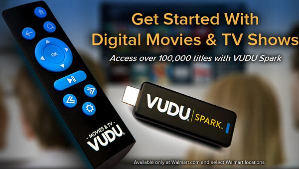 Медиаплеер Walmart Vudu Spark: дешевый ответ Chromecast
