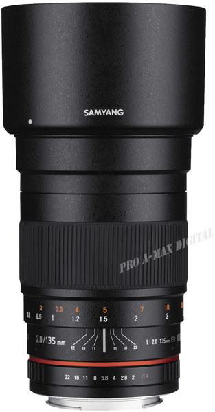 ������������� �������� Samyang 135mm F2.0 ED ��� ���������� ����� Canon