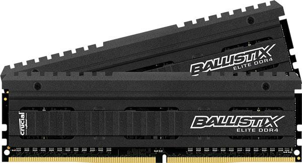 По словам производителя, модули Ballistix Elite DDR4 оптимизированы для систем на чипсете Intel X99